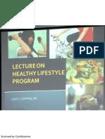 (CM) Healthy Lifestyle Program