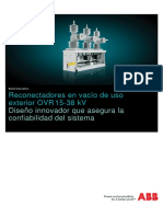 ABB Recloser Brochure 1VAL2601-TG Rev F SP