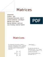 Matrices-Tipos