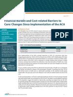 CHCF Financial Impacts Brief