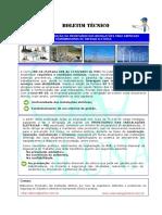 Boletim Tecnico - Prontuario Das Instalações