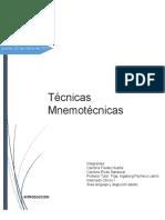 Revision Tecnicas Mnemotecnicas