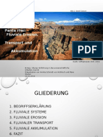 PPPräsentation Fluviale Prozesse.annika Schmidt Von Wühlisch & Mara Stiehm