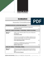 SUMARIO Gaceta Constitucional - Octubre 106