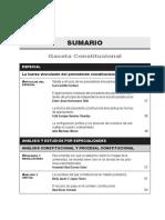 SUMARIO Gaceta Constitucional - Enero97