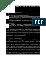 Notas Sobre El Río en La Literatura Argentina - Hernaiz