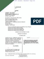 ACLU lawsuit against CBP, DHS