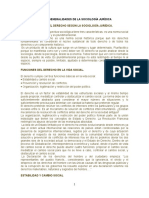 TEMA 2 Generalidades de La Sociología Jurídica