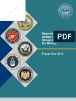 FY15 Annual Report on Sexual Assault in the Military Full Report