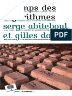 Gilles Dowek, Serge Abiteboul-Le temps des algorithmes-Le Pommier (2017).pdf