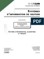 111(Collection DCG intec 2013-2014) Laurence ALLEMAND, Laurent BOKSENBAUM, Véronique DRAMBOIT, Jean-Marie PASCAL, Pradeepa THOMAS-UE 118 Systemes d'information de gestion série 1-Cnam Intec (2013)