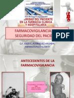 4.- Farmacovigilancia y La Seguridad Del Paciente.ppt