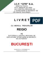 LIVRET REGIO Bucuresti Cu Anexa Inclusa