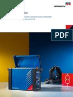 Testrano 600 Brochure Esp