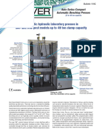 Auto Series Hydraulic Presses Sheet