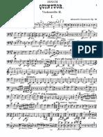 IMSLP255097-PMLP121554-Glazunov - String Quintet Op39 in a Major for 2violins Viola 2Cellos Cello2