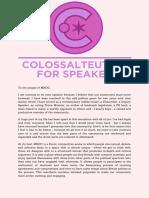 colossalteuthid for speaker