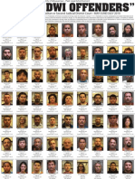 DWI Convictions June-July 2010