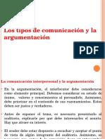 Comunicación y Argumentación