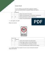 Cuestionario General Licencias Clase B