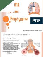 Asthma vs Emphysema