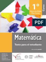 Texto Para El Estudiante-Matematica 1- EM- 2016 MEC (1)