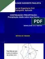 Aula Hidrologia Aplicada 4 1 Cont Precipitacao