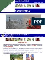 Taquimetria - PUC