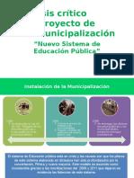 Análisis Desmunicipalización Escuela 2017-chile