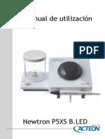 Manual Newtron P5 SX b.led
