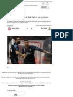 Cristiano Ronaldo Puso Al Real Madrid Con Un Pie en Semifinales - Más Deportes - Los Andes Diario