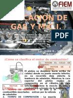 Aplicacion de Gas y Motores de Comb. Int. Sesion 02