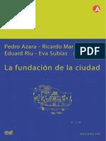 Fundación de La Ciudad-P. Azara