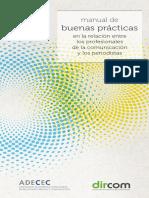 Manual buenas prácticas en la relación entre los profesionales de la comunicación y los periodistas.
