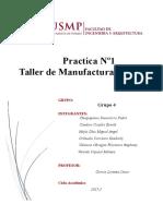 Taller de Manufactura Tarea 1