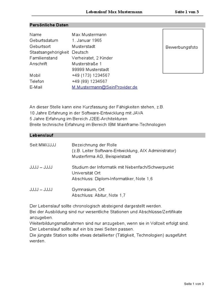 Großzügig Leitern Lebenslauf Vorlage Galerie - Entry Level Resume ...