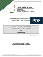 Physical Sciences P2 May-June 2016 Memo Afr & Eng