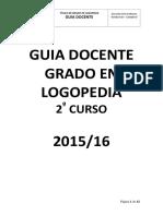 Guia Docente Segundo Curso Grado Logopedia 6