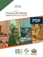 """Cuaderno de Trabajo """"Proceso de diálogo rumbo al Pacto Fiscal"""""""