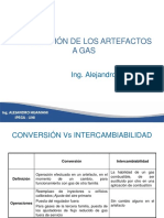 Clase 3 Conversion de Artefactos a Gas