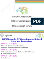 Radio Optimisation