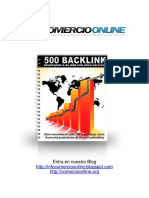 500 Backlinks Info Comercio Online Marketing Negocios