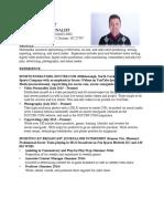 cole walker resume