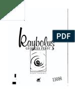 Georges Perec - Kaybolus (La Disparition)