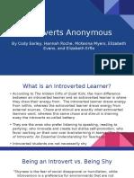 edu 221- quiet and shy presentation