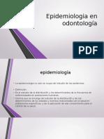 Epidemiologia en odontología