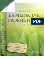 L'authentique  De La Médecine Prophtéque