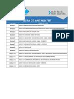 Lista de Anexos FUT