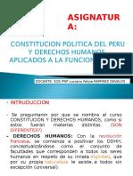 Primera Clase Constitucion y Ddhh