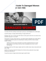 An Exclusive Guide to Dating Damaged Women - Christian Mcqueen